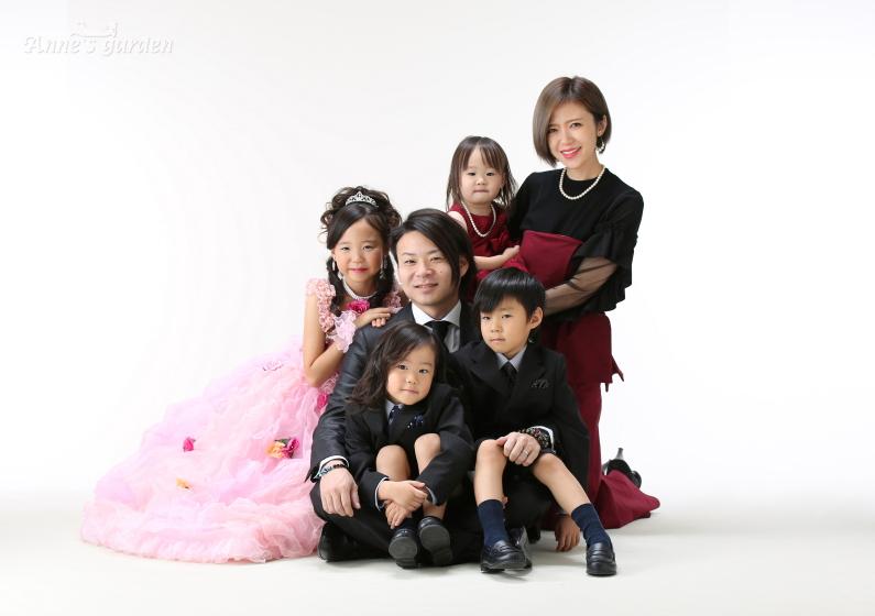 アンズガーデン松戸の七五三7歳のフォトプランの撮影です。
