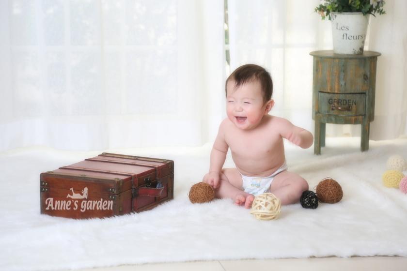 アンズガーデン松戸の1st Birthdayの撮影です。