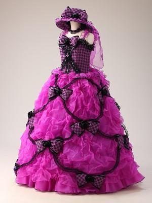 幕張 ハーフ成人式ドレス 13