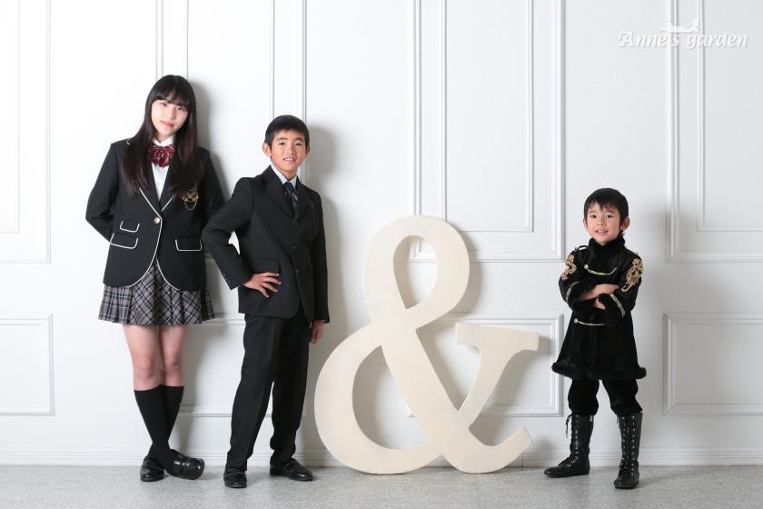 東京近郊にあるアンズガーデン新東京店で、七五三・5才の撮影をされたお客様