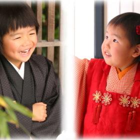 アンズガーデン松戸の七五三5歳・3歳のフォトプランの撮影です。