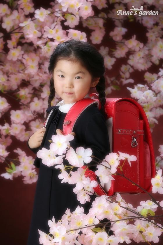 東京近郊にあるアンズガーデン新東京店で、入学の撮影をされたお客様