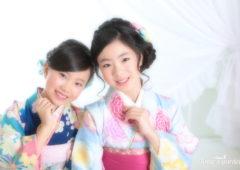 東京近郊にあるアンズガーデン新東京店で、小学校卒業袴・ハーフ成人式の撮影をされたお客様