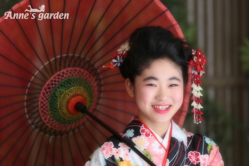 アンズガーデン松戸の十三参りの撮影です。