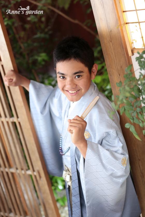 アンズガーデン新東京店で、小学校卒業袴の撮影をされたお客様