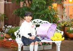 アンズガーデン松戸のご卒園・ご入学記念の撮影です。