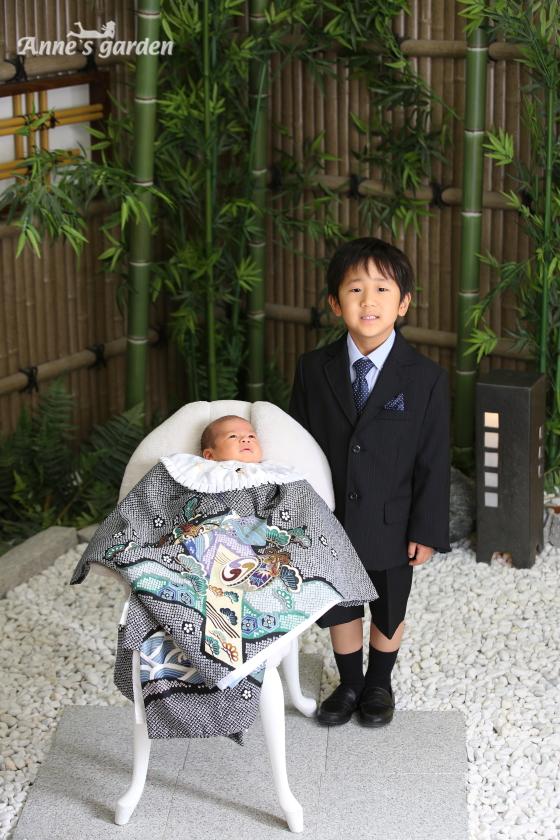 アンズガーデン松戸店のお宮参りの撮影です。