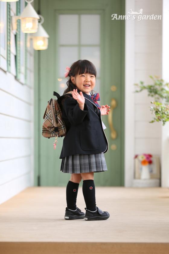 アンズガーデン松戸のご入園記念の撮影です。