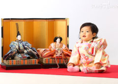 #千葉県千葉市の写真館#アンズガーデン幕張本店#初節句#ひな人形