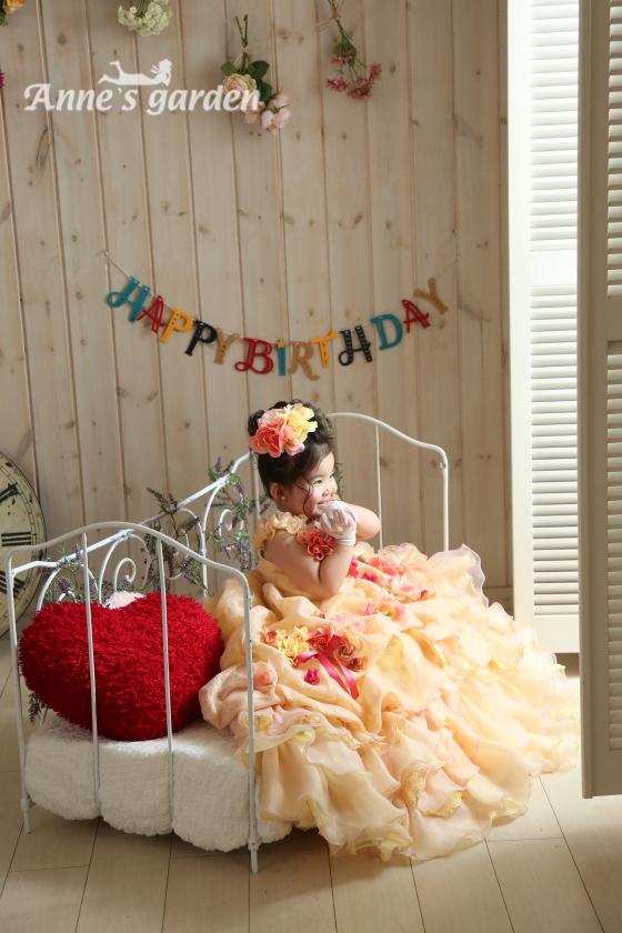 アンズガーデン松戸店の誕生日記念の撮影です。