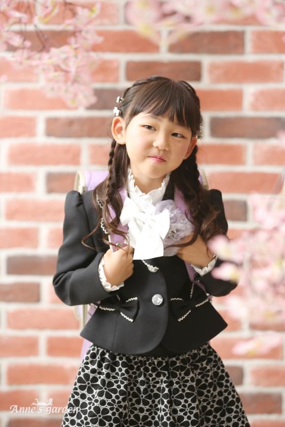 アンズガーデン松戸店の入学記念の撮影です。