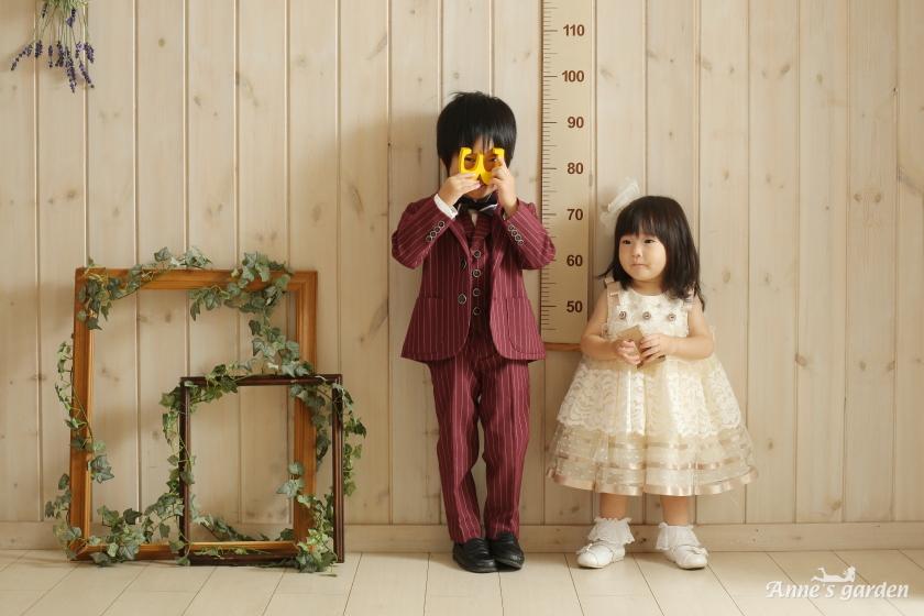 アンズガーデン松戸店の1歳記念の撮影です。