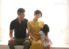 アンズガーデン松戸店の家族記念の撮影です。